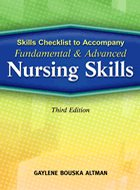 Fundamental & Advanced Nursing Skills, Skills Checklist to Accompany