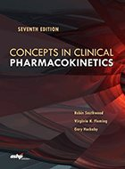 Concepts in Clinical Pharmacokinetics – 7th Ed. (2018)