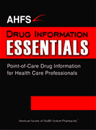 AHFS DI® Essentials™