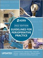 AORN Guidelines for Perioperative Practice - 2020 Edition