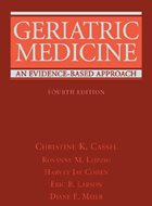 Geriatric Medicine: An Evidence Based Approach - 4th Ed. (2003)