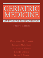 Geriatric Medicine: An Evidence Based Approach