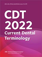 CDT: Dental Procedure Codes (2020)