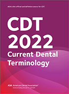 Code on Dental Procedures and Nomenclature