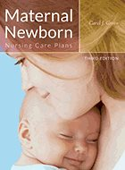 Maternal Newborn Nursing Care Plans - 3rd Ed. (2016)