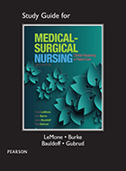 Medical-Surgical Nursing: Clinical Reasoning in Patient Care, Study Guide for