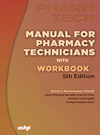 Manual for Pharmacy Technicians with Wookbook