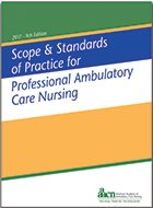 Scope and Standards of Practice for Professional Ambulatory Care Nursing - 9th Ed. (2017)