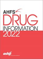 AHFS Drug Information® (2019)