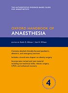 Oxford Handbook of Anaesthesia - 4th Ed. (2016)