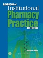 Handbook of Institutional Pharmacy Practice - 4th Ed. (2006)
