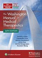 Washington Manual® of Medical Therapeutics, The - 36th Ed. (2020)