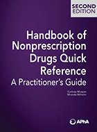 Handbook of Nonprescription Drugs Quick Reference