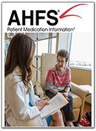 AHFS Patient Medication Information (2021)